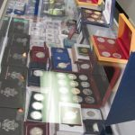 Medals in Display Case from Jewelry and Coin Exchange